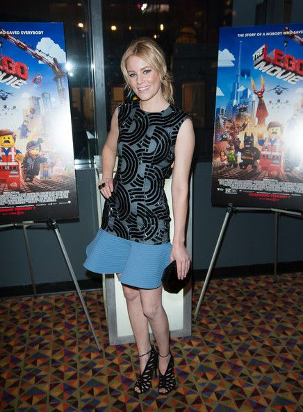 "Elizabeth Banks Elizabeth Banks attends ""The LEGO Movie"" screening hosted by Warner Bros. Pictures and Village Roadshow Pictures at AMC Empi..."
