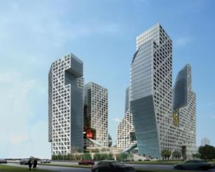 The sliced porosity bloc I Steven Holl Architects
