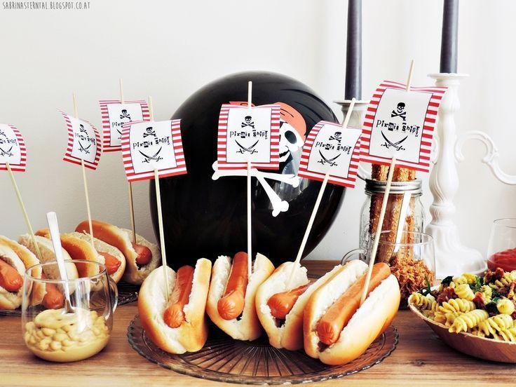 babys first birthday - pirates birthday party - little pirates - Piratenparty - der erste Geburtstag