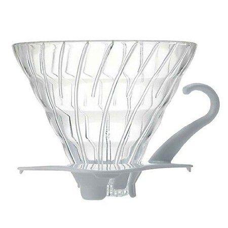 Hario V60 (02) Glass Dripper: 1-4 Cups (5764)