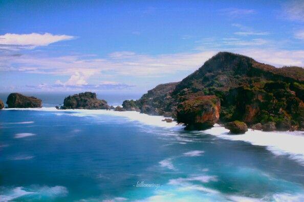 SIUNG Beach. Gunung Kidul