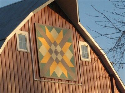 Best 309 Barn Quilts Images On Pinterest Architecture