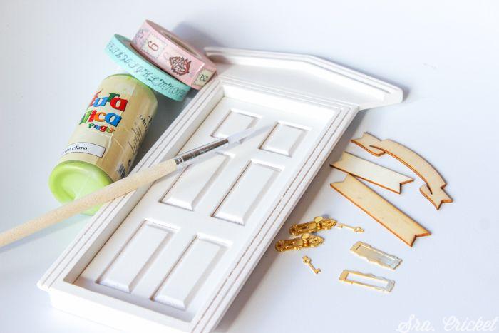puerta del raton perez hecha a mano
