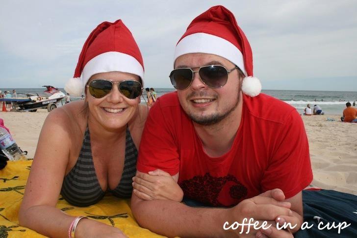 christmas on australia's sunshine coast :)