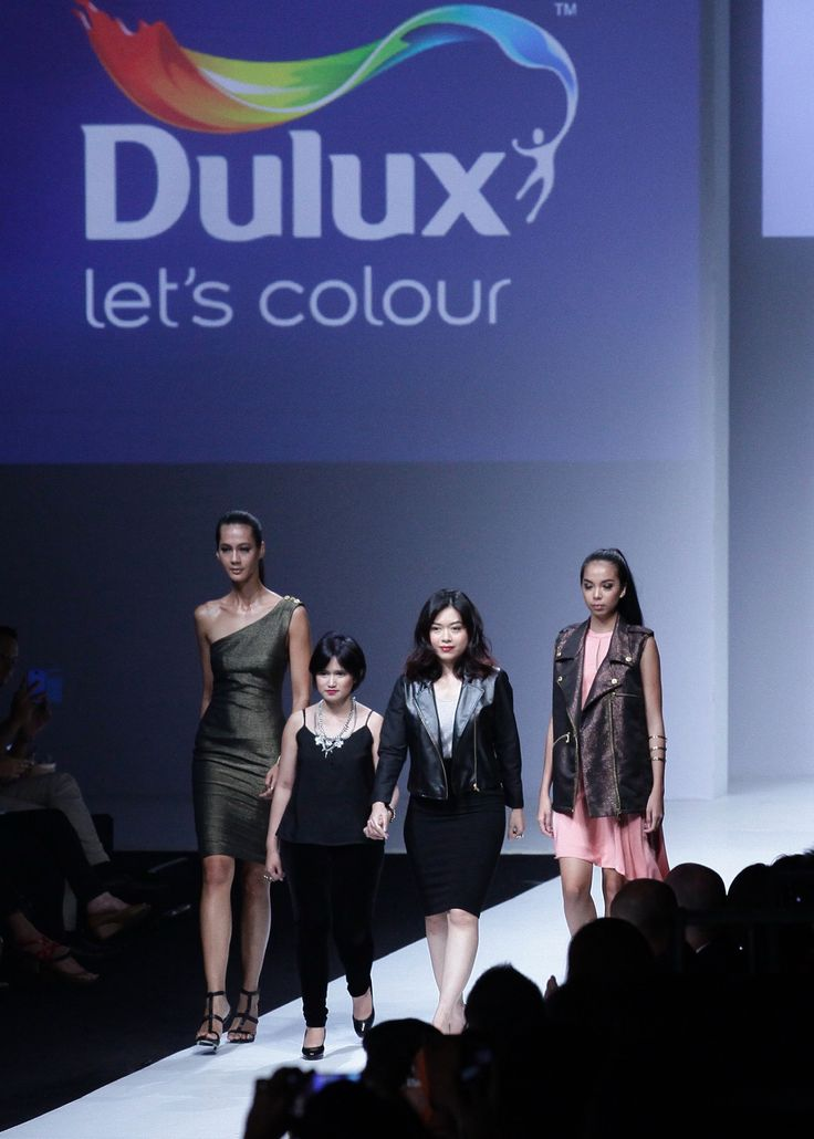 Final walk runway show at Jakarta Fashion Week 2015.