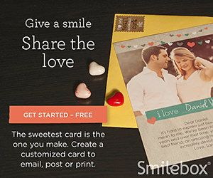 Send a Valentine's Day E-card #FREE with Your Photos, Text — Even Video and Sound!  #ValentinesDay