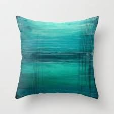 """Image result for """"Lagoon"""" - Teal Home Decor - Modern Throw Pillow - Decorative Pillow Cover"""