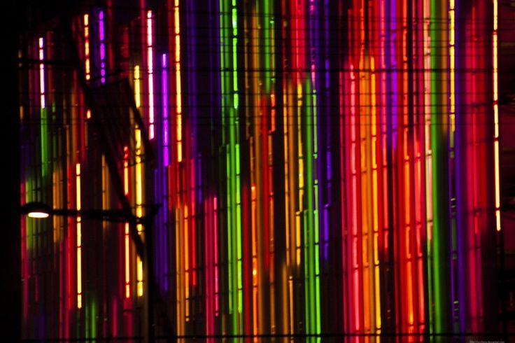 fete des lumieres Lyon 2012 - Festival of Lights by YochimA