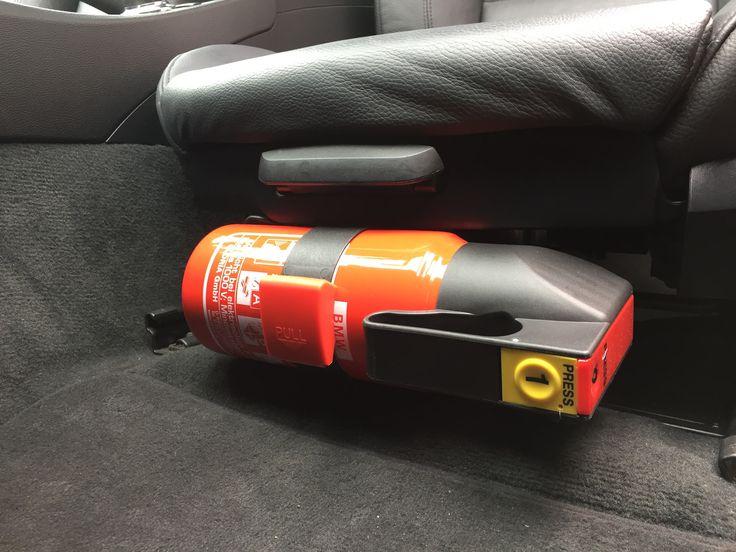 Genuine BMW Fire Extinguisher And Bracket Installed E92 335i