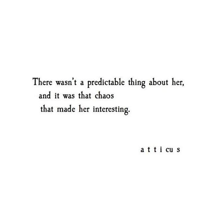 'Chaos' @Atticuspoetry #Atticuspoetry