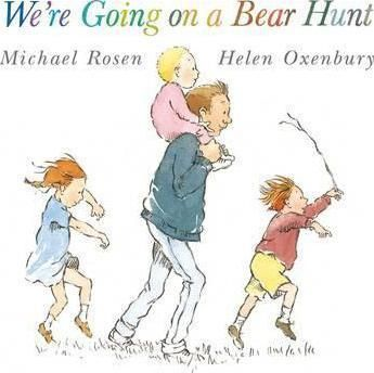 For-brave-hunters-and-bear-lovers-the-classic-chant-aloud-by-Michael-Rosen-and-Helen-Oxenbury