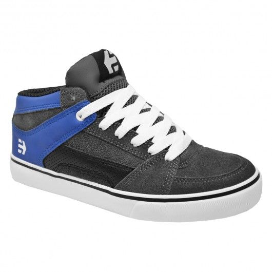 Etnies RVM BMX Shoes dark grey blue chaussures montantes 85€ #etnies #etniesshoes #etniesfootwear #footwear #shoes #shoe #chaussure #chaussures #skateshoes #chaussuresdeskate #skate #skateboard #skateboarding #streetshop #skateshop @PLAY Skateshop