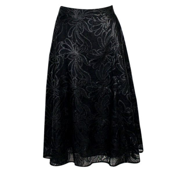 Hello #sequin fanatics! Grab this gorgeous sequin floral skirt to wear this holiday season! http://ss1.us/a/WaZyfJIe
