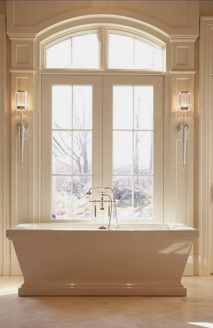 South Shore Decorating Blog: 50 Favorites for Friday #158  I love the windows for another room in my house