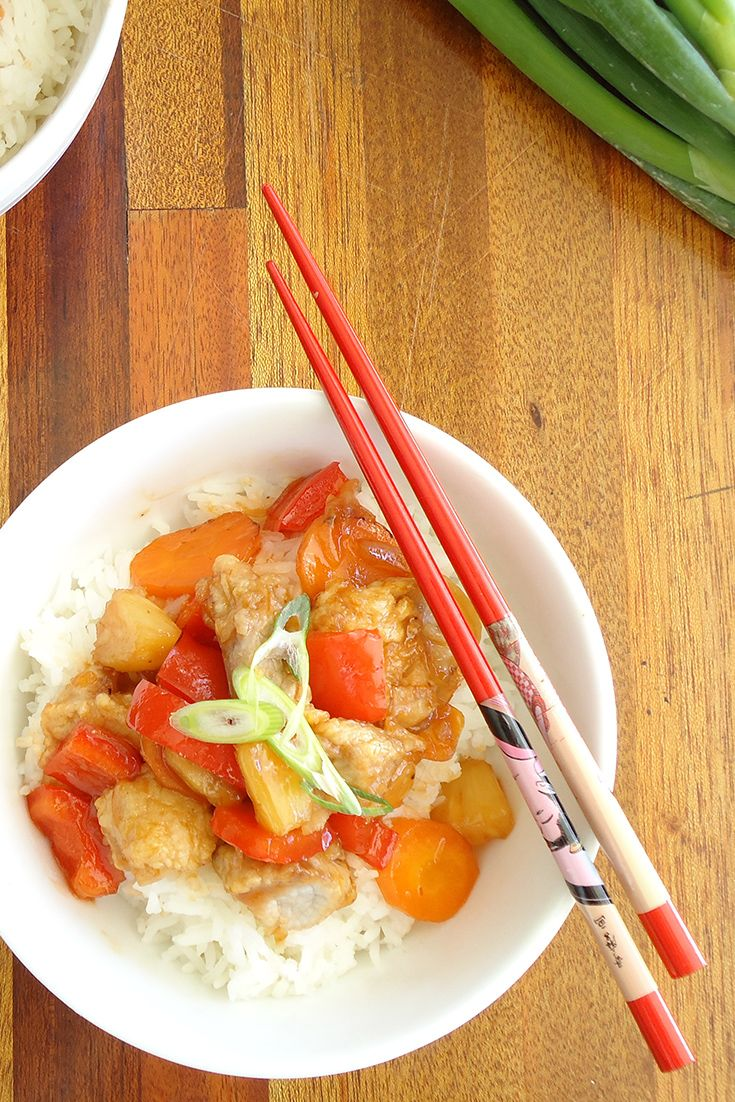 "#RecipeoftheDay: Sweet and Sour Pork -""Well, WOW! I finally got to make this and it is fantastic!"" - kimmyh"