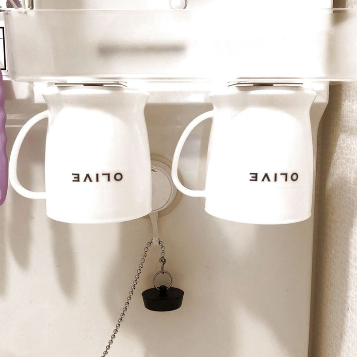 ダイソーのお品で解決した洗面所のコップ収納 洗面所 コップ 洗面所 インテリア 100均 洗面所 収納