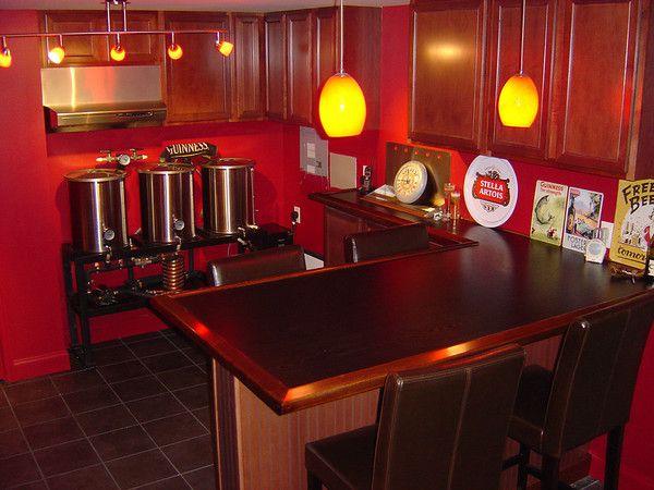 Basement Brew Room/bar