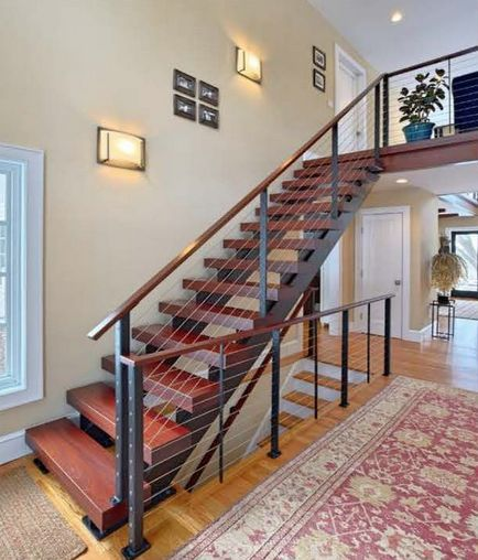 40 Trending Modern Staircase Design Ideas And Stair Handrails: Best 20+ Cable Railing Ideas On Pinterest