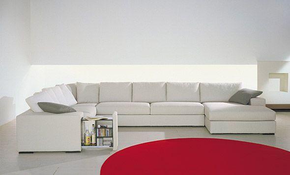 Divano angolare di linea moderna modello Merit - Tino Mariani http://www.tinomariani.it/prodotti/merit.html