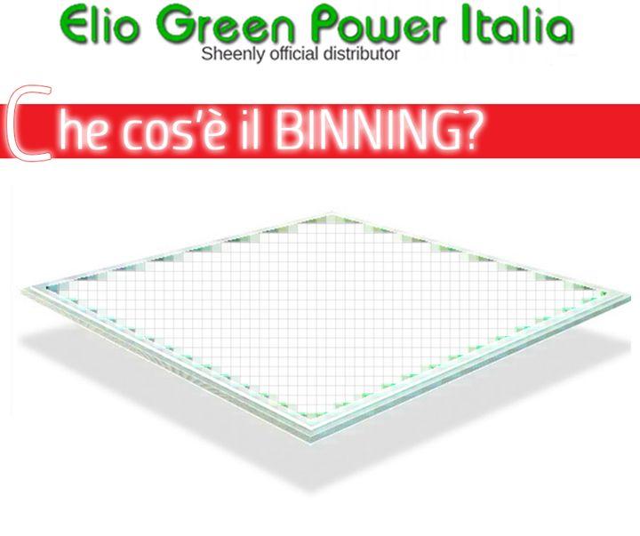 Che cos'è il Binning?