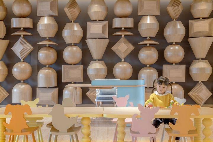 Homeland Children Themed Sales Center By Kyle Chan Associates