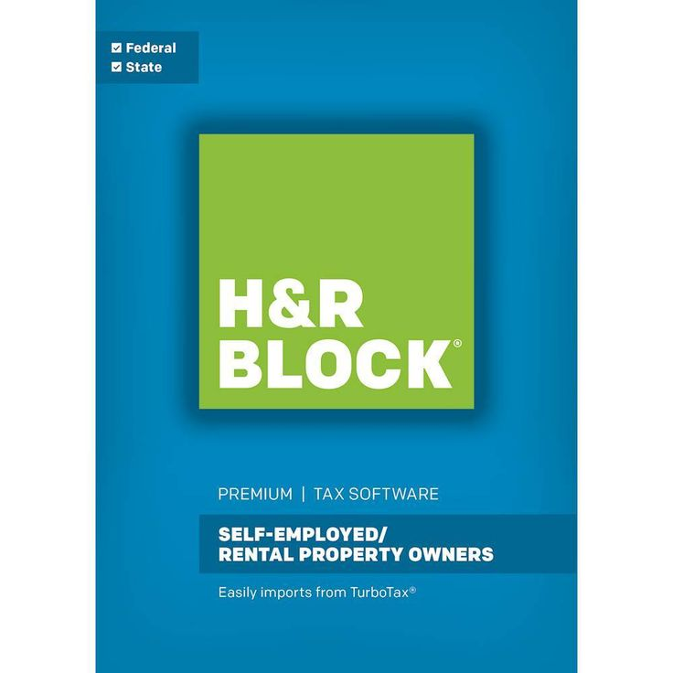 H&R Block Tax Software Premium: Self-Employed/Rental Property Owners - Mac|Windows