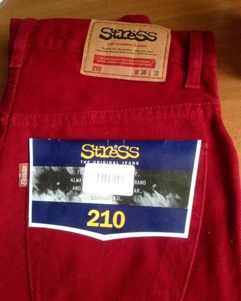 Оптом джинсы стресс