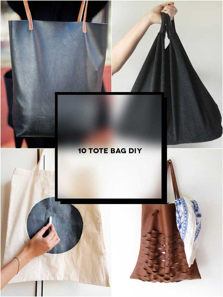 10 Tote DIY