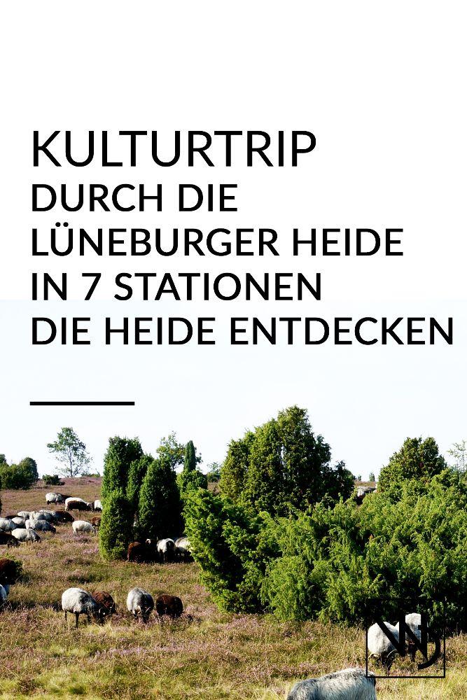 Sommerurlaub in Deutschland kann auch schön sein. Wie wäre es mit einem Kulturtrip durch die Lüneburger Heide? Entdecke die Heide und ihre Umgebung zur Blütezeit in sieben abwechslungsreichen Stationen. Themen: Kultur, Urlaub, Sommer, Heideblüte, KultTrip