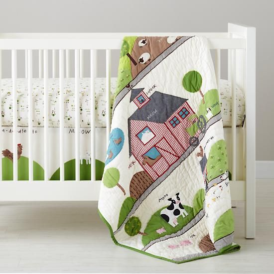 For boy vintage farm nursery The Land of Nod Baby