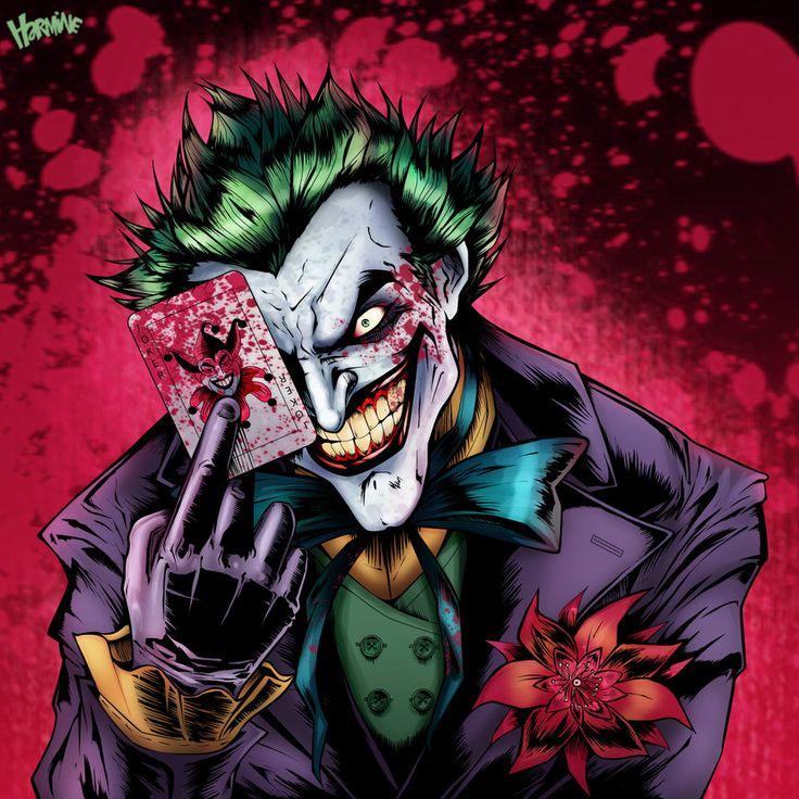 Joker and harley quinn batman pinterest c mics for Harley quinn quien es