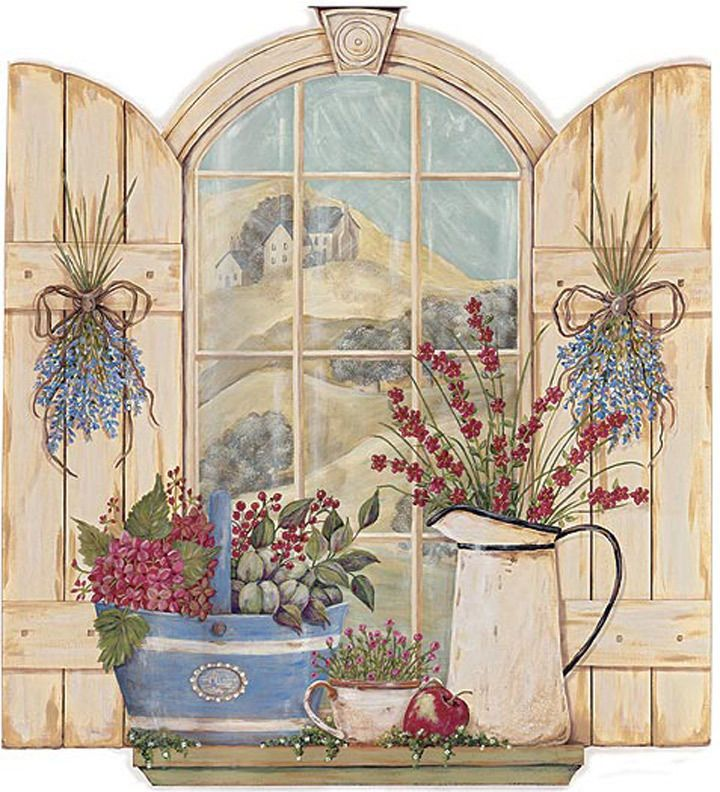 Garden Arch Window Wallpaper Mural CY3405M #StJames