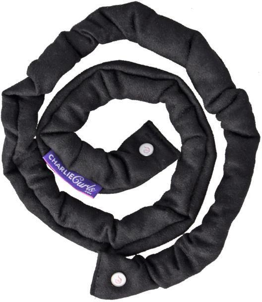 Charlie Curls No Heat Hair Curler - Black
