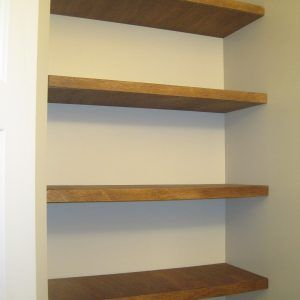 Plywood Thickness For Storage Shelves
