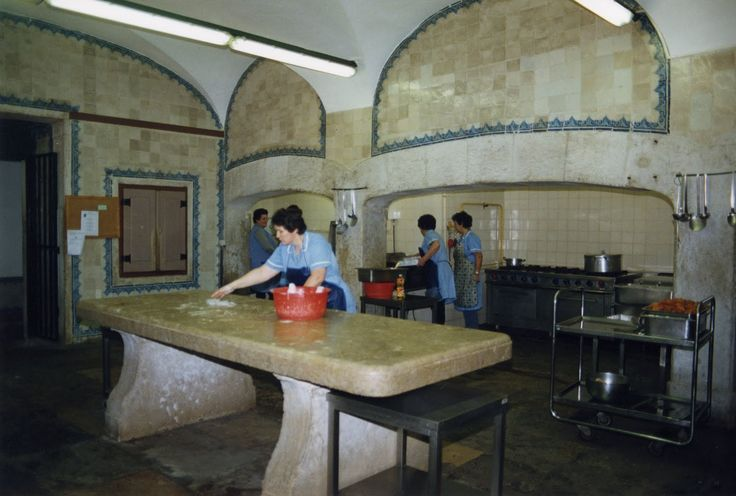 Cozinha do Palácio do Marquês d Pombal   Oeiras   Portugal A alimentação em Portugal no século XVIII - Oeiras com História