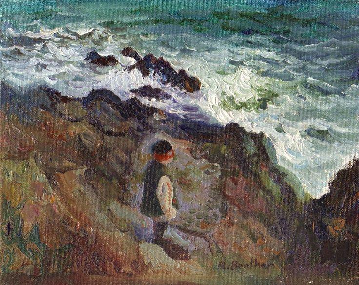 Winter Sea by Rick Bentham on ArtClick.ie Ireland Seascape Art