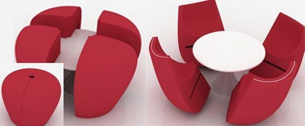 17 mejores im genes sobre muebles transformables en for Muebles transformables
