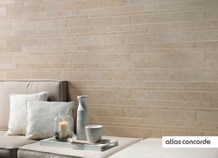 #SUNROCK jerusalem ivory | #Brick | #AtlasConcorde | #Tiles | #Ceramic | #PorcelainTiles