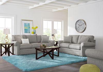 Cindy Crawford Home Bellingham Gray 7 Pc Living Room