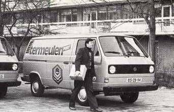 Ter Meulen Post thuisbezorging 1970.