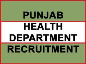 punjab health department recruitment