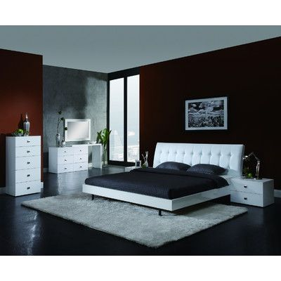 CREATIVE FURNITURE Scarlet Platform Bedroom Collection   Http://delanico.com /bedroom