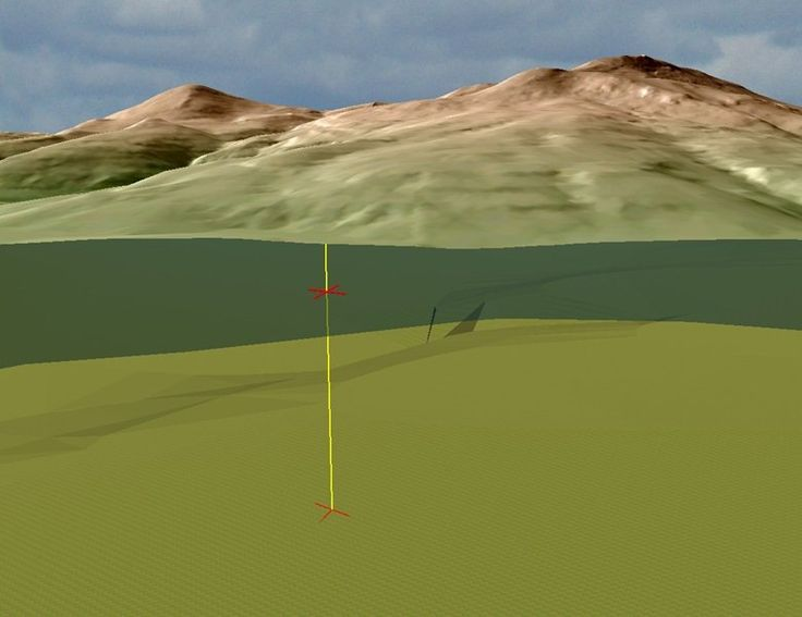 Modellazione 3D del Monte Amiata e sua geologia sotterranea, 2003 - Alberto Antinori