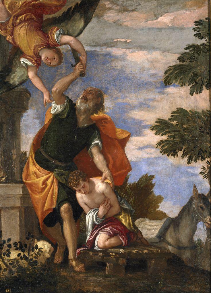 Véronèse, Le Sacrifice d'Isaac - Prado