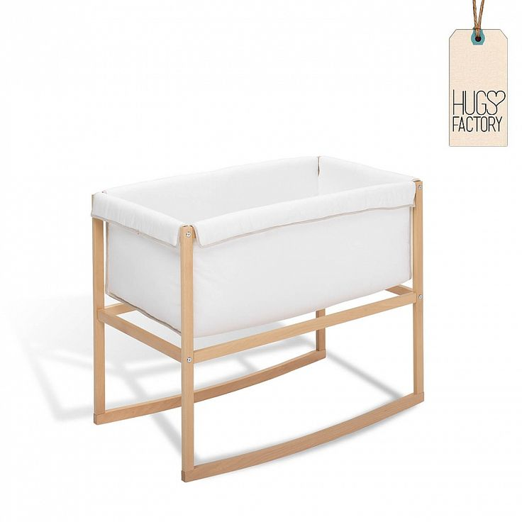 Baby Cradle Nolita By Hugs Factory; Non Toxic And Eco Friendly;