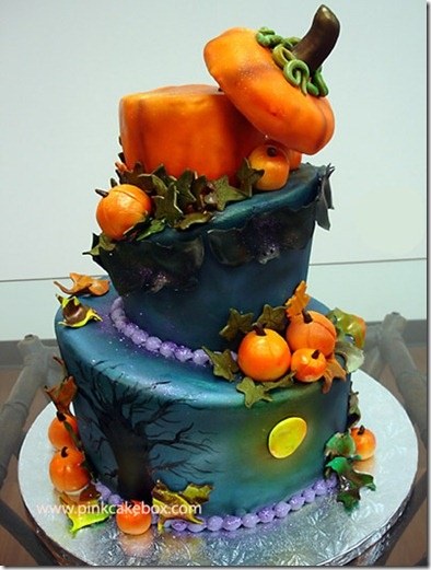 Halloween cakes @Bonnie S. S. S. Leidich-Hensley @Liz Mester Mester z Hensley