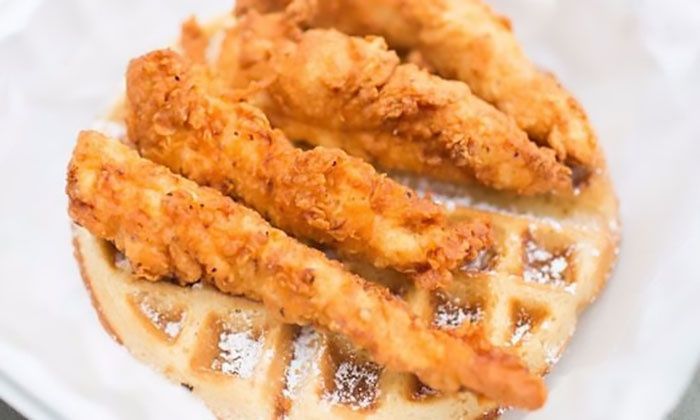Capital Chicken & Waffles Food Truck - Fort Washington: $15 Value or Two or Three $20 Vouchers Toward Food and Drinks at Capital Chicken & Waffles Food Truck