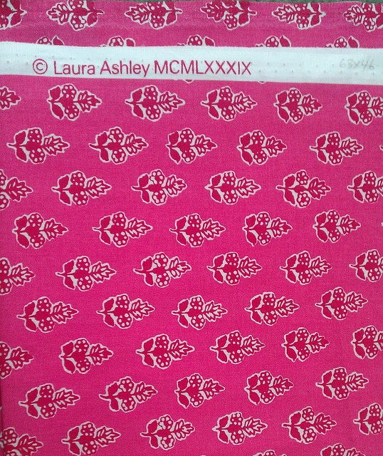 Vintage Laura Ashley Print 1989