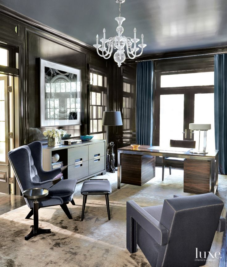 Blue Office: 173 Best Images About Home Office/Work Spaces/Inspiration