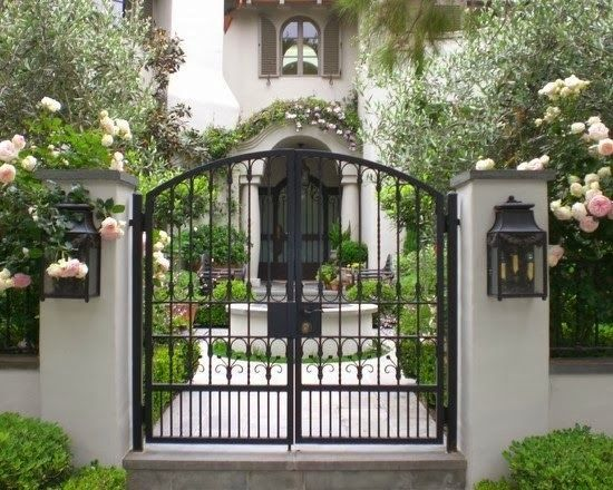 Design For Gate And Fence 195 best gates fences images on pinterest entry gates door courtyard gate design pictures remodel decor and ideas workwithnaturefo